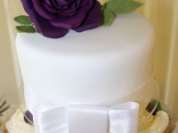 Top Tier Wedding Cutting Cake