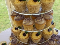 Shona and Andrew's Wedding Cupcakes Detail