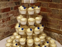 Stephanie and Brett's Wedding Cupcake Tower