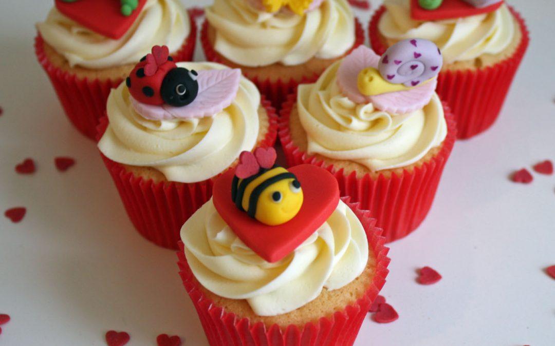 Valentine's Day Cupcakes 2015