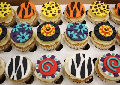 African inspired cupcakes
