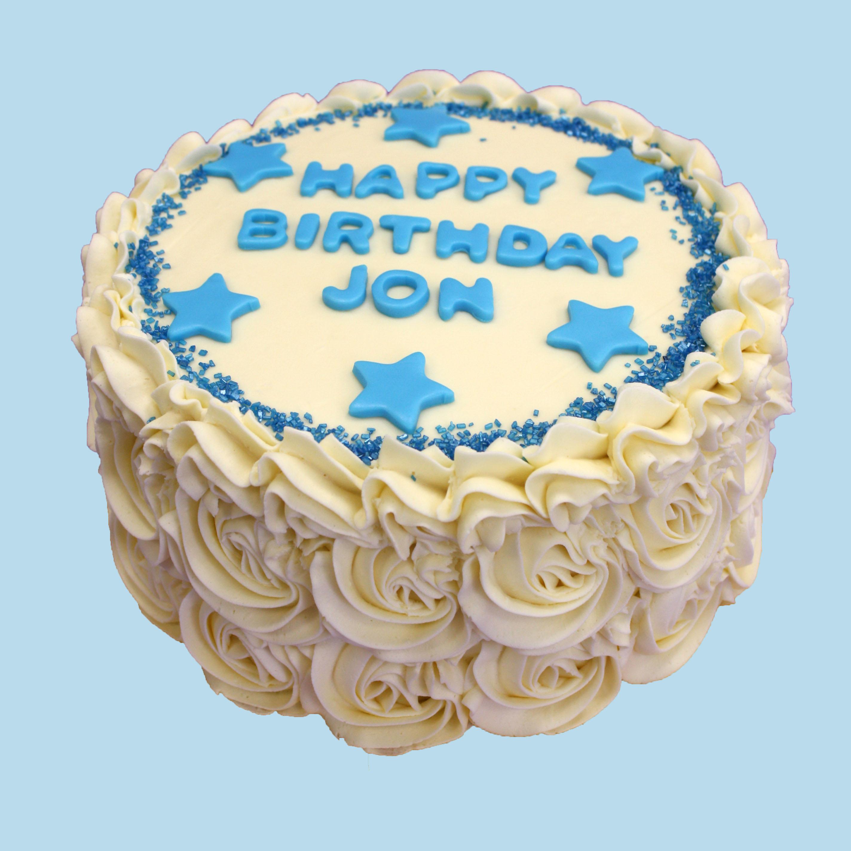 How To Swirl Colour A Sponge Cake
