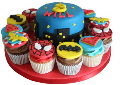 Cakes for Superheros