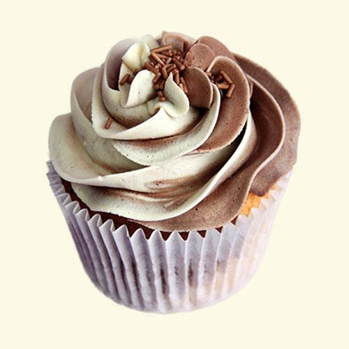 ChocoVanilla Cupcakes
